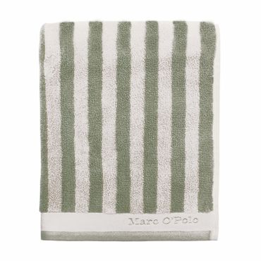 Marc O'Polo Handtücher Classic Stripe green off white – Bild 1