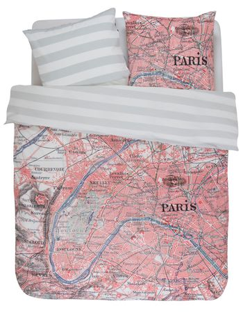 Covers & Co Bettwäsche Paris citymap multi Renforcé – Bild 1