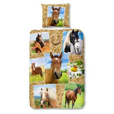 good morning Bettwäsche 5752 Horses Pferdegalerie – Bild 1