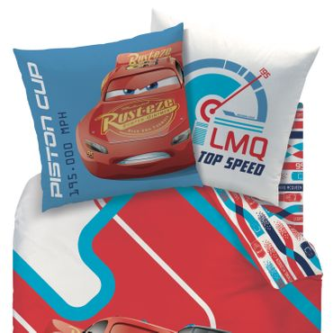 CTi Bettwäsche Disney Cars Racing Serie Biber – Bild 2