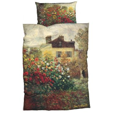 Claude Monet Bettwäsche Künstlerhaus Multi Satin