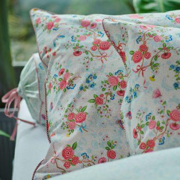 PiP Studio Perkal Bettwäsche Chinese Rose Bouquet White – Bild 4