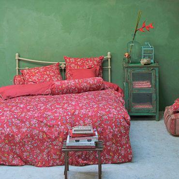 PiP Studio Perkal Bettwäsche Chinese Rose Bouquet Red – Bild 2