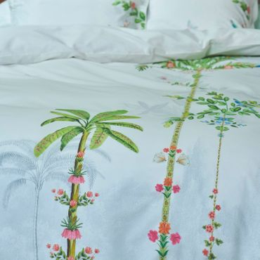 PiP Studio Bettwäsche Indian Palms White Perkal – Bild 2