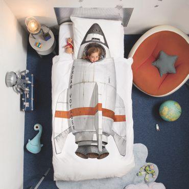 Snurk Bettwäsche Rocket weiß Perkal – Bild 5