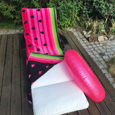 Dreams Jacquard Strandlaken Wassermelone 90x180 cm – Bild 2