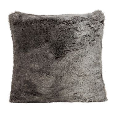 Winterhome Fellkissen Timberwolf Full Fur 45x45 cm
