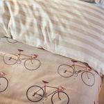 Covers & Co Bettwäsche Knox Fahrrad Rad gestreift