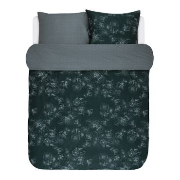Marc O'Polo Bettwäsche Varr Pine Green Blue Satin – Bild 2