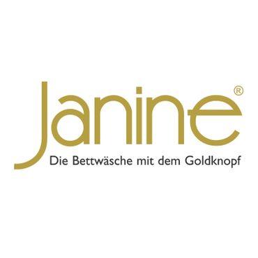 Janine Bettwäsche Davos 65043 02 Jeansblau Ecru Feinbiber – Bild 3