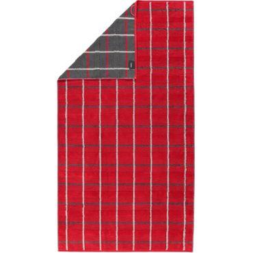 Cawö Handtücher Noblesse Square 1079 27 Rot  – Bild 5