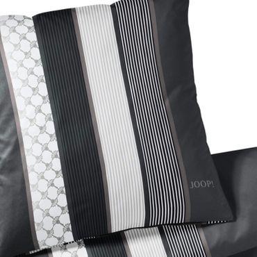 JOOP! Bettwäsche Cornflower Stripes 4069 99 Deep Stone Mako Satin – Bild 4