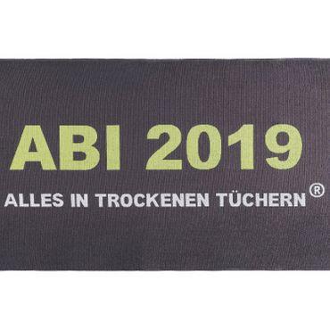 Egeria ABI 2019 Strandlaken Strandtuch Anthrazit 75x180 cm – Bild 2