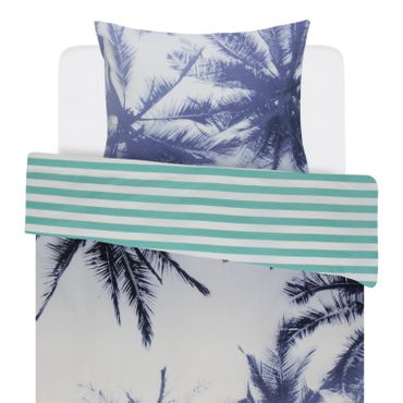 Covers & Co Bettwäsche Palmera Blue Renforcé – Bild 2