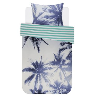 Covers & Co Bettwäsche Palmera Blue Renforcé – Bild 1