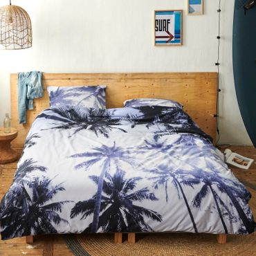 Covers & Co Bettwäsche Palmera Blue Renforcé – Bild 5