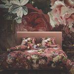 Essenza Bettwäsche Fleur Dusty Rose Satin Blumen Blüten