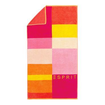 ESPRIT Strandlaken Lani Pink 100x180 cm – Bild 1