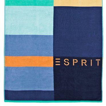 ESPRIT Strandlaken Lani Blau 100x180 cm – Bild 3