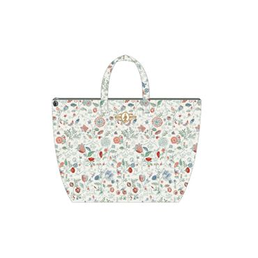 PiP Studio Beach Bag Spring to Life Petit White – Bild 1