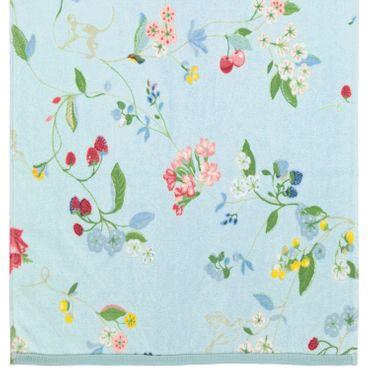 Pip Studio Duschtuch Hummingbirds Blau 70x140 cm – Bild 5