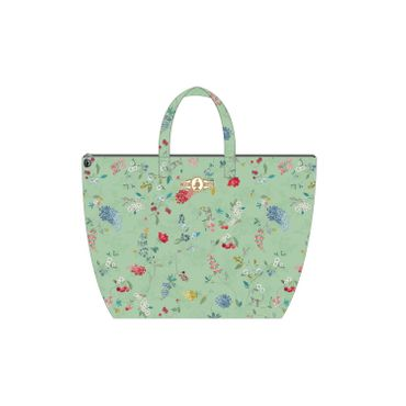 PiP Studio Beach Bag Hummingbirds Green – Bild 1