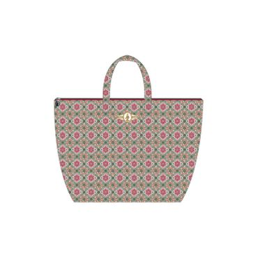 PiP Studio Beach Bag Double Check Pink – Bild 1