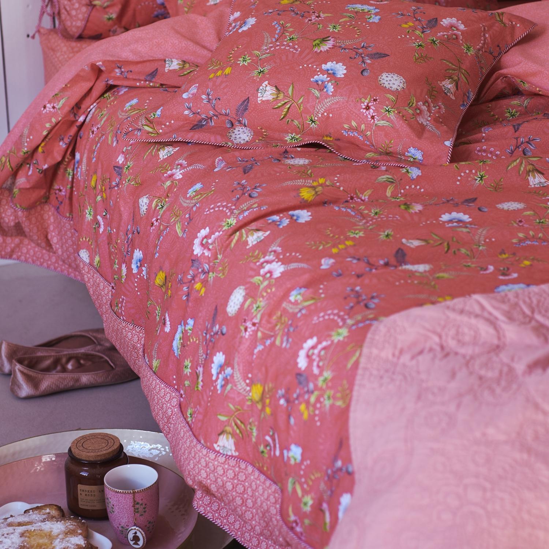 PiP Studio Romantik Bettwäsche 80x80 /& 155x220  *La Majorelle Pink
