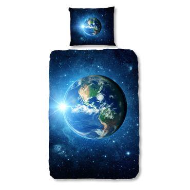 Good Morning Bettwäsche 2512 Earth Blue – Bild 1