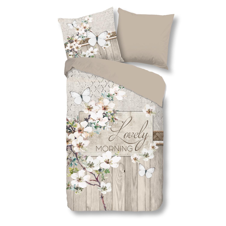 Good Morning Bettwäsche 2227 Kitty Schmetterling Blumen Blüten Landhaus Romantik