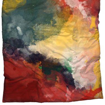 CASATEX Bettwäsche Paint Bunt Satin – Bild 3