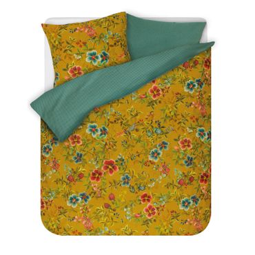 PiP Studio Bettwäsche Floral Delight Yellow Perkal – Bild 2