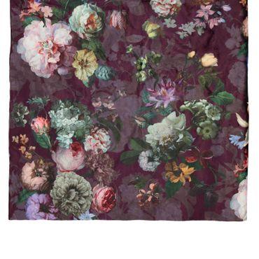ESSENZA Plaid Wohndecke Fleur Burgundy 135x170 cm  – Bild 3