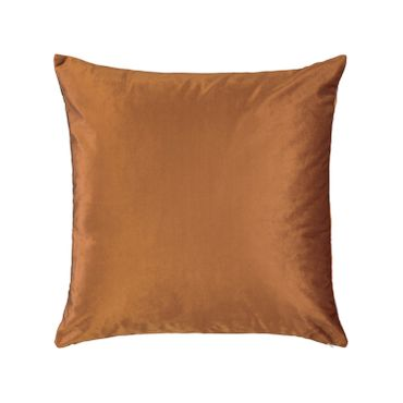 ESSENZA Zierkissen Dekokissen Fleur Leather Brown 50x50 cm – Bild 2
