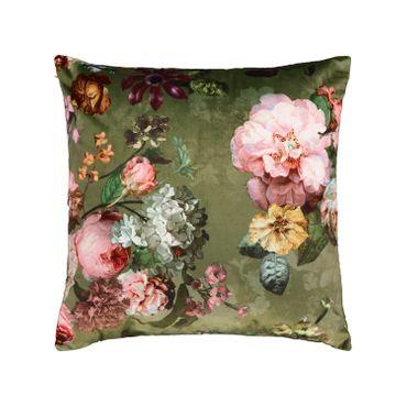 ESSENZA Zierkissen Dekokissen Fleur Moss 50x50 cm – Bild 1