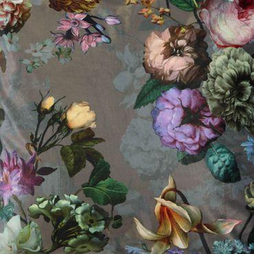 ESSENZA Zierkissen Dekokissen Fleur Taupe 50x50 cm – Bild 5