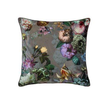 ESSENZA Zierkissen Dekokissen Fleur Taupe 50x50 cm – Bild 1
