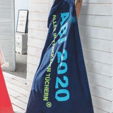 Egeria ABI 2020 Strandlaken Strandtuch Marine 75x180 cm – Bild 6