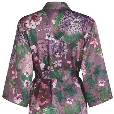 ESSENZA Kimono Morgenmantel Sarai Diana lila – Bild 5