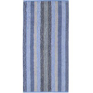 Cawö Handtücher Unique Stripes 944 11 Saphir – Bild 1