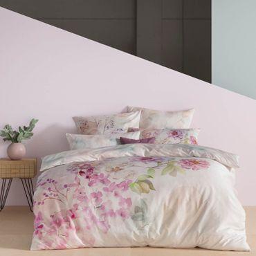 Estella Bettwäsche Bloom 4735 985 multicolor Mako Satin – Bild 2