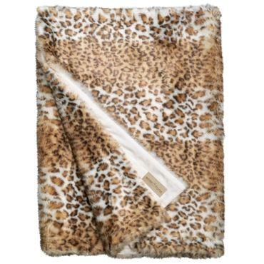 Winterhome Felldecke Snow Leopard 140 x 200 cm – Bild 1