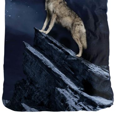 ESPiCO Bettwäsche Sleep and Dream Wolf Blau Renforcé – Bild 3