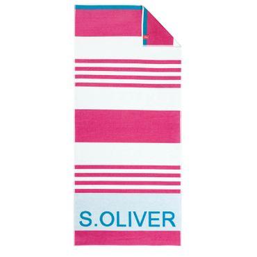 s.Oliver Strandlaken 3707 24 Pink 80x180 cm – Bild 1