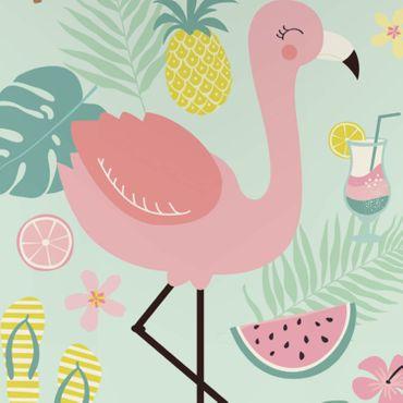 ESPiCO Bettwäsche Trendy Bedding Flamingo multi Renforcé – Bild 7