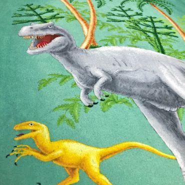 ESPiCO Strandlaken Dino Grün 75 x150 cm – Bild 4