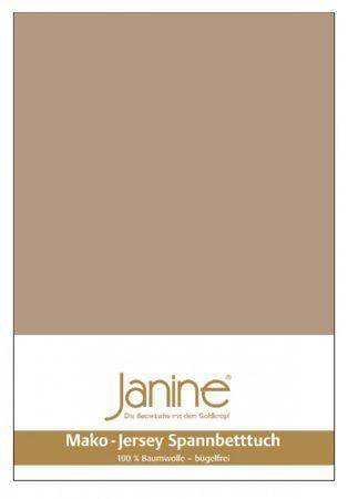 Janine Spannbettlaken Mako-Feinjersey Baumwolle Classic Jersey 5007 – Bild 23