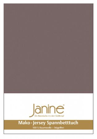 Janine Spannbettlaken Mako-Feinjersey Baumwolle Classic Jersey 5007 – Bild 7