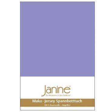 Janine Spannbettlaken Mako-Feinjersey Baumwolle Classic Jersey 5007 – Bild 5