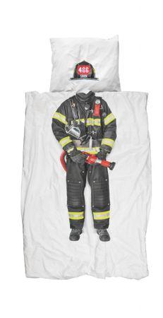 Snurk Perkal Bettwäsche Firefighter – Bild 1